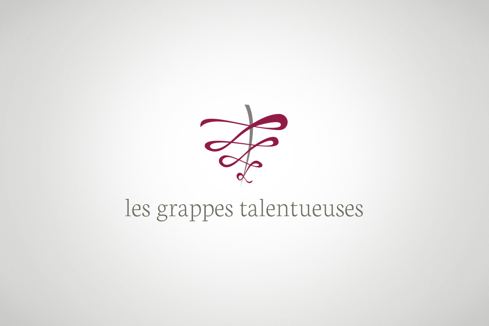 logo les grappes talentueuses graphival