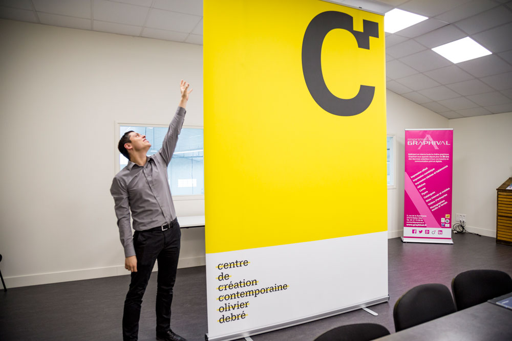 roll-up géant CCC Graphival
