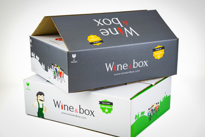 cartons vin graphival